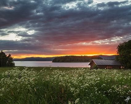 solnedgång lada blogg
